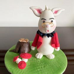 Rabbit Alice in Wonderland