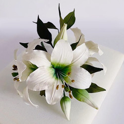 Lillies Sugar Flowers