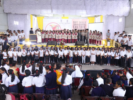 Aspire Meghalaya empowers over 1000 students in WKH