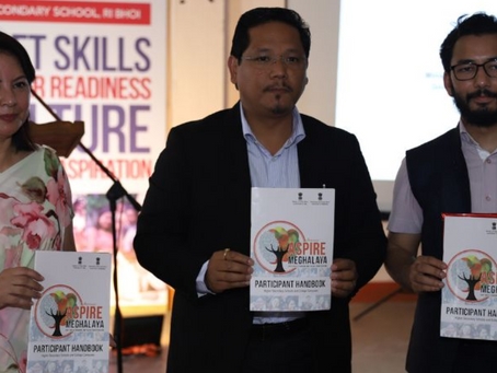 Aspire Meghalaya | Over 200 students empowered in Ri Bhoi