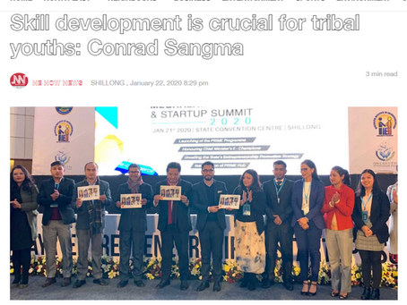 Skill development is crucial for tribal youths: Conrad Sangma