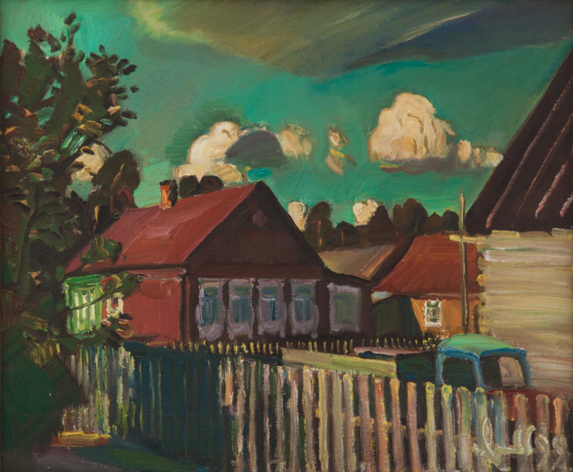 В деревне Старые Омутищи