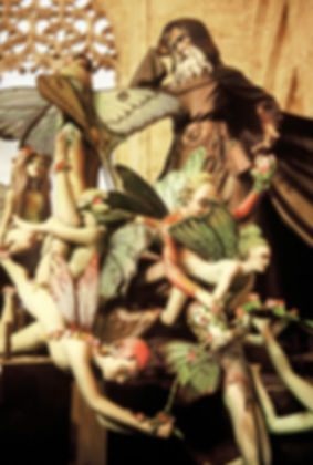 Exposition des ninots pendant les fallas de Valence en Espagne.Photographies de Jacques Bravo