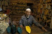 souk babouches Marrakech, Maroc, Jacques Bravo