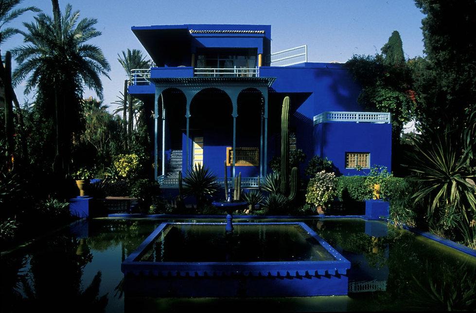 Villa Majorelle à Marrakech, Maroc, Jacques Bravo