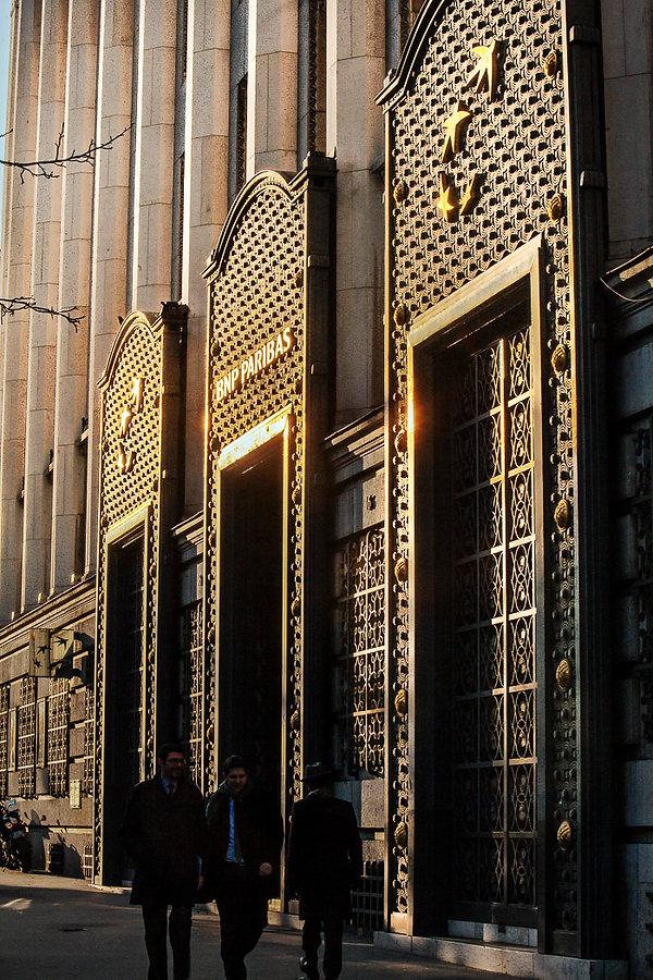 siège social de la banque BNP Paribas sur le Boulevard des Italiens