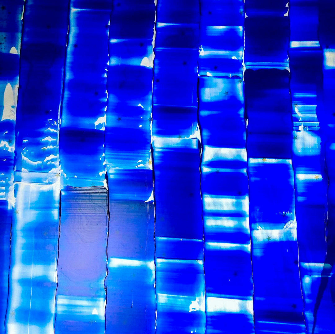 Nuances de bleu