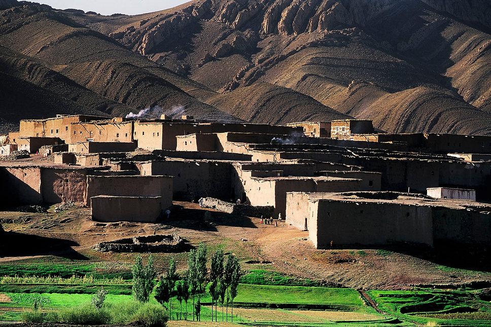 le village d'Imilchil au Maroc