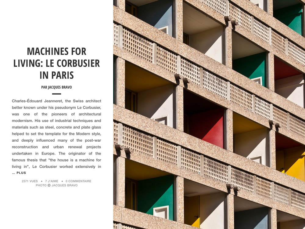 MACHINES FOR LIVING: LE CORBUSIER