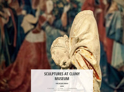 SCULPTURES AT CLUNY MUSEUM