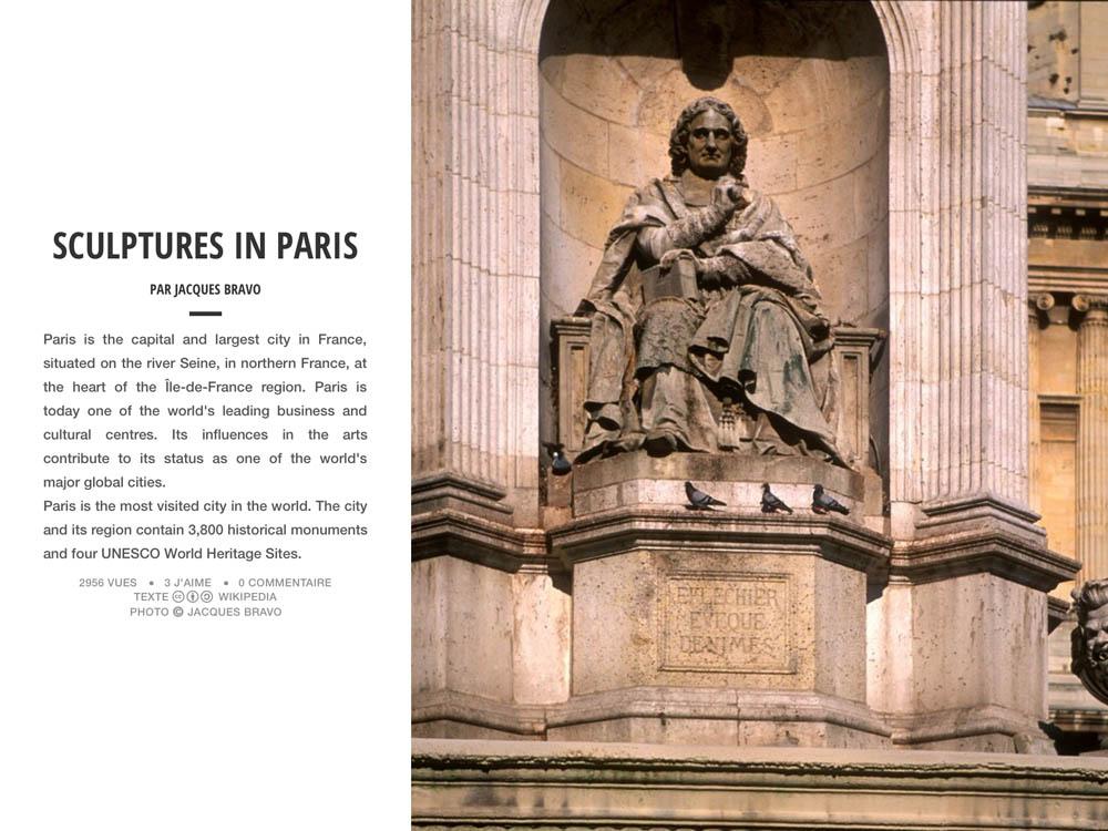 SCULPTURES IN PARIS
