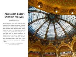 PARIS'S SPLEDID CELLINGS
