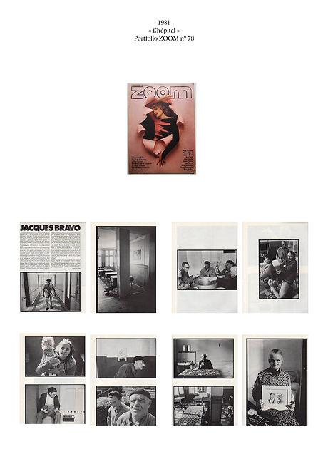 Magazine zoom N°78. Jacques Bravo. Photographies de Jacques Bravo