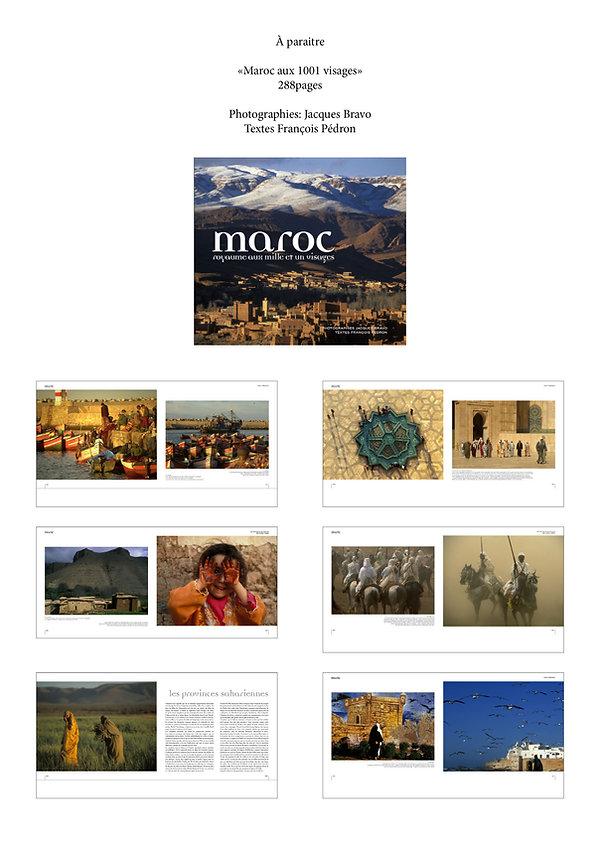 livre Maroc par Jacques Bravo et François Pédron