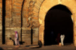 "Porte ""Bab Agnaou"" à Marrakech, Maroc, Jacques Bravo"