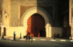 La porte Bab el Mansour à Meknès, Maroc. Jacques Bravo
