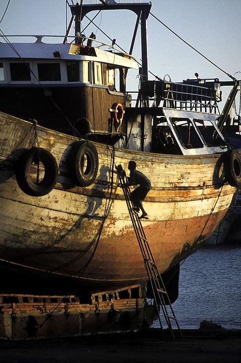 chantier Essaouira, Maroc. Jacques Bravo