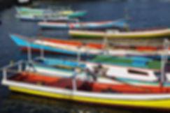 Ile de Sumba,  port de Waingapu. Jacques Bravo
