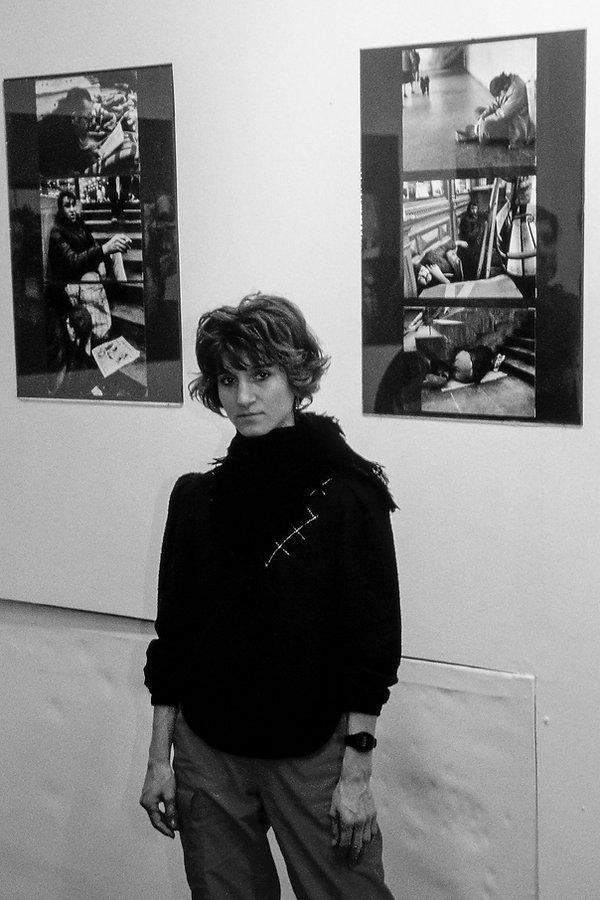la photographe Anita Galambos et ses photos de SDF
