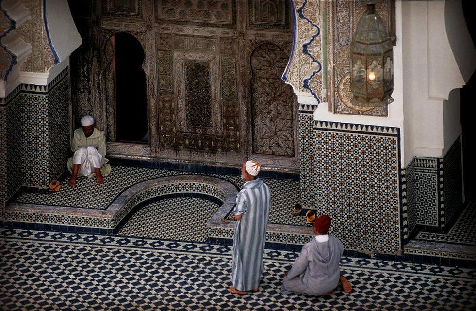 Prière à la mosquée Karaouine