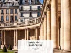 PARIS'S HÔTELS PARTICULIERS