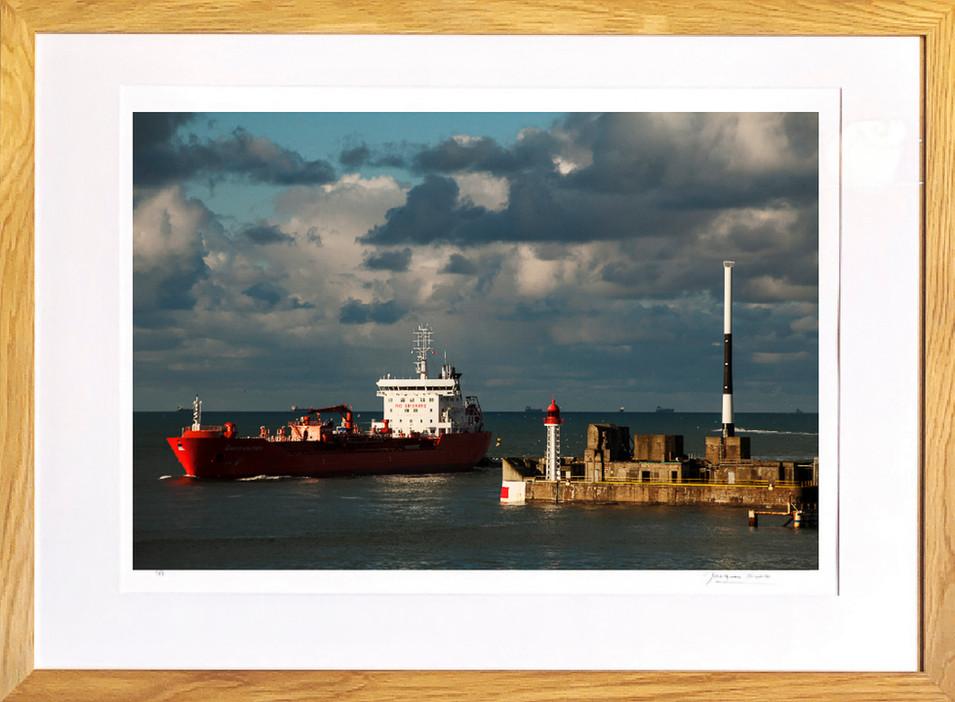 Cargo au port du Havre