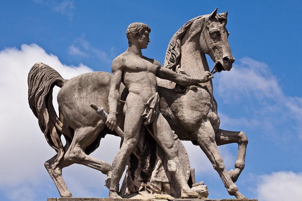 Guerrier romain, Pont d'Iéna