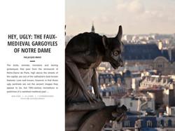 HEY, UGLY: THE FAUX-MEDIEVAL GARGOYL