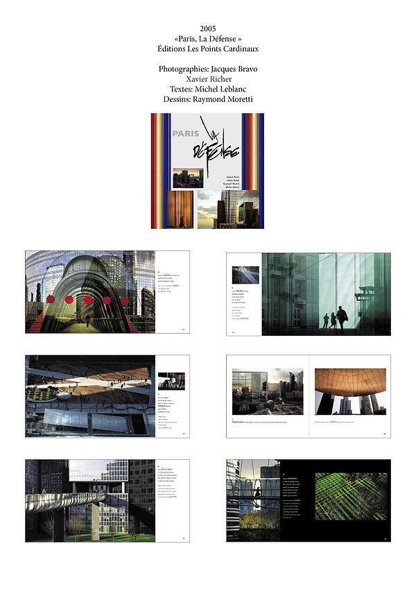 Livre Paris La Défense