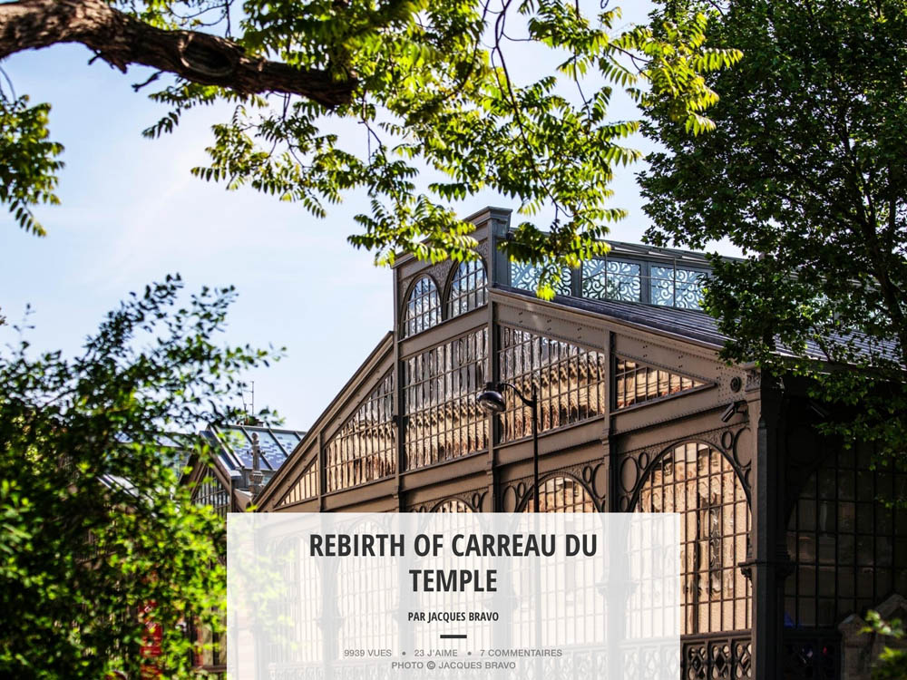REBIRTH OF CARREAU DU TEMPLE
