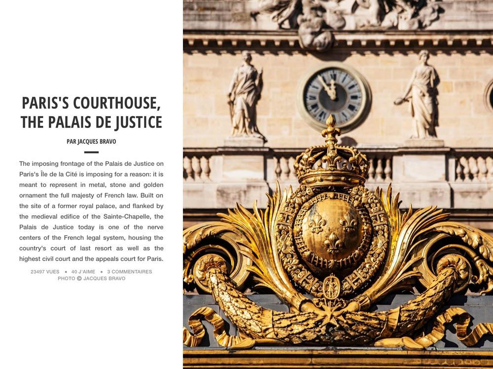 PARIS'S COURTHOUSE
