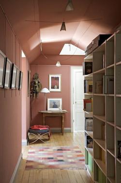 Couloir de la bibliothèque