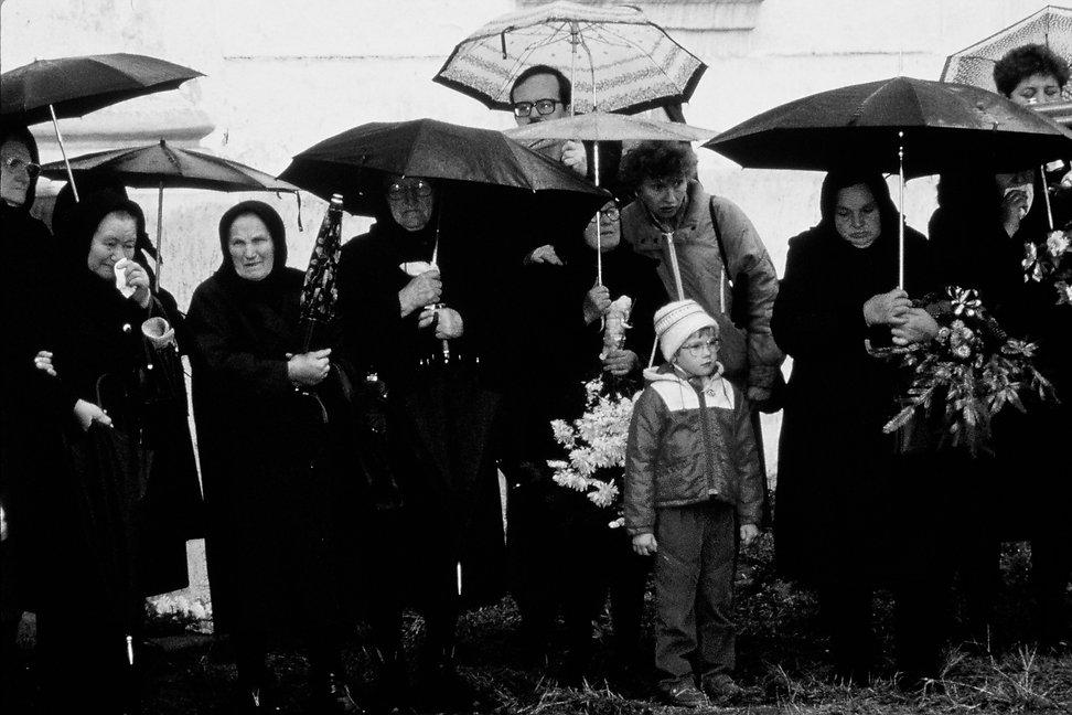 Inauguration d'une statuecommémorativede Richard Torok . Photogrphie de Jacques Bravo