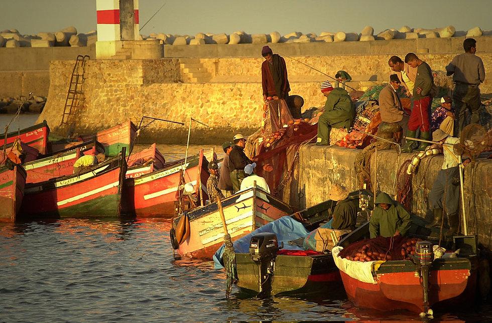 Port El Jadida au Maroc