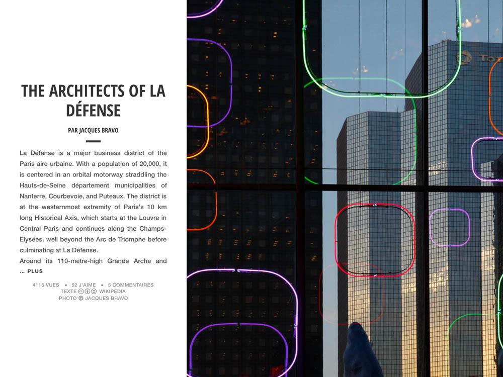 THE ARCHITECTS OF LA DÉFENSE