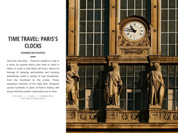 PARIS'S CLOCKS