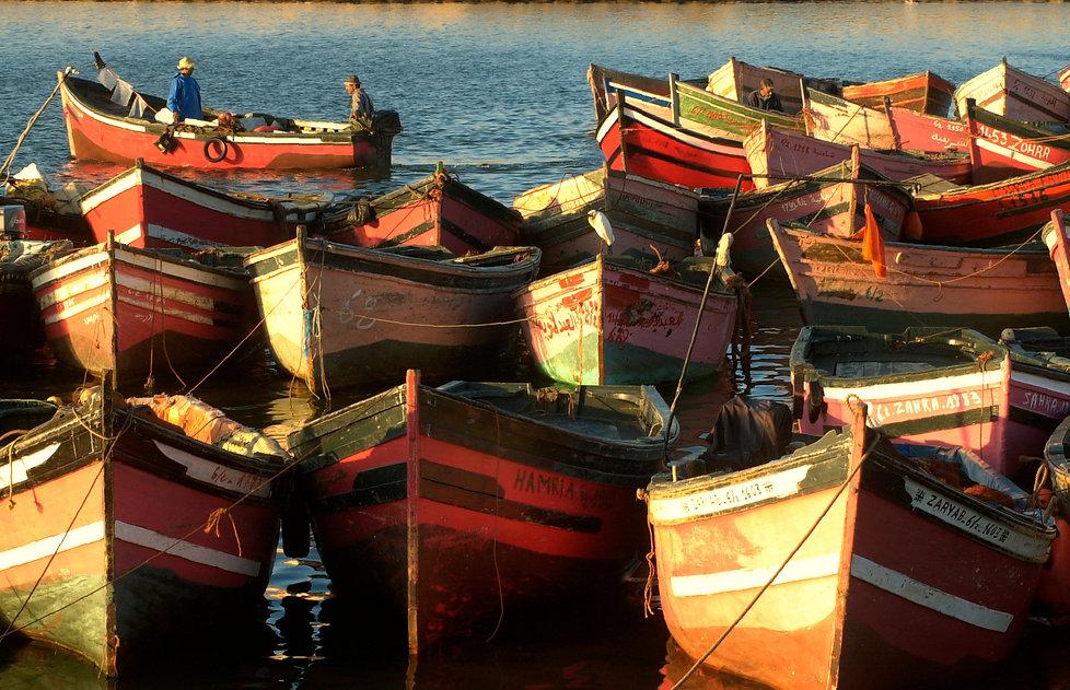 Pêche à el Jadida au Maroc