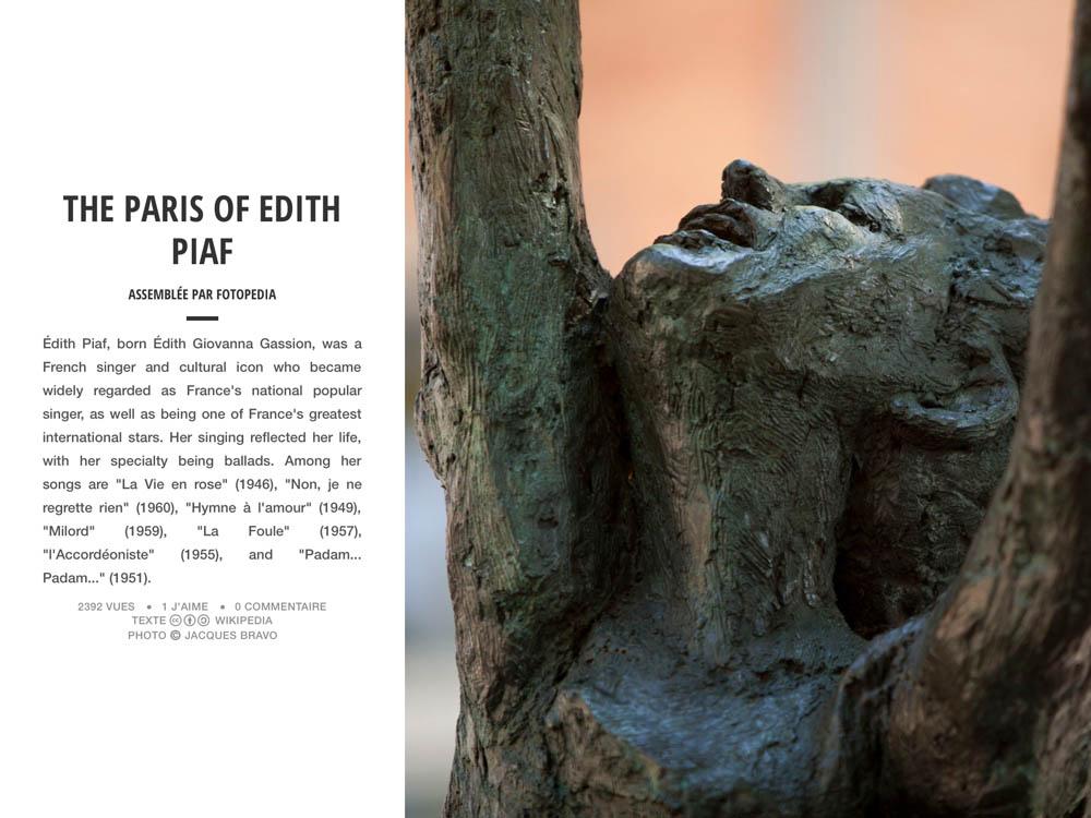 THE PARIS OF EDITH PIAF