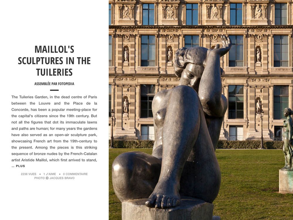 MAILLOL'S SCULPTURES IN THE TUILERIE