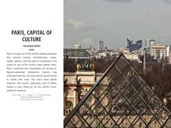 PARIS, CAPITAL OF CULTURE