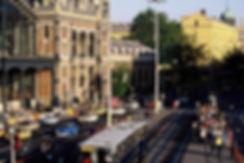 La gare de Budapest. Photographie de Jacques Bravo