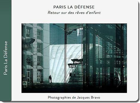 carnet de voyage à la Défense, Paris, Jacques Bravo