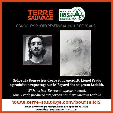 Lionel Prado, bourse iris, montagne