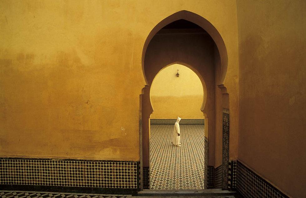 Le mausolée Moulay Ismail. Meknès. Jacques Bravo