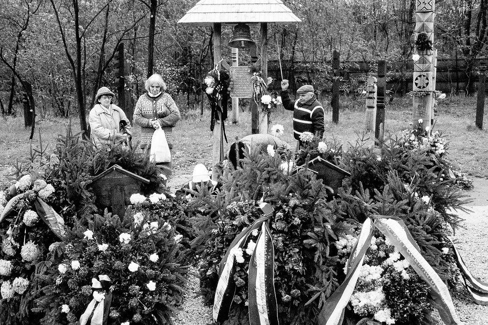 La tombe de Imre Nagy à Budapest