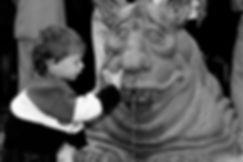 statue pour une fontaine de Nanda Stossel. Photographie de Jacques Bravo