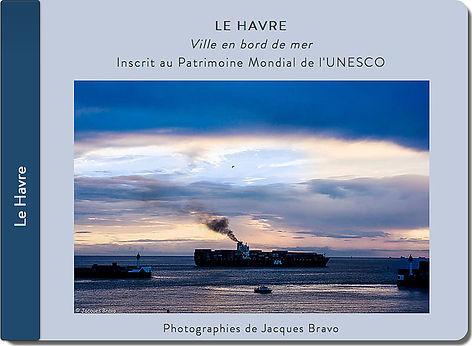 carnet de voyage au Havre, cargo, Jacques Bravo