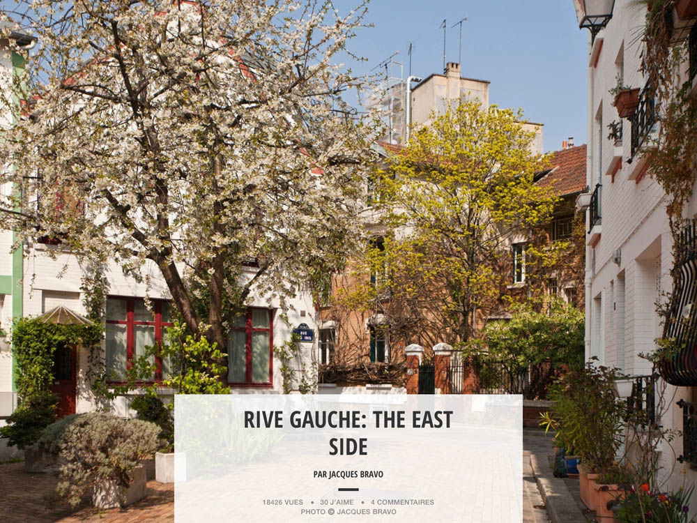 RIVE GAUCHE: THE EAST SIDE