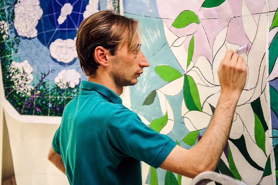 Le peintre Kalman Pollacsek