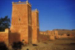 Les toits du mausolée Moulay Idriss. Jacques Bravo